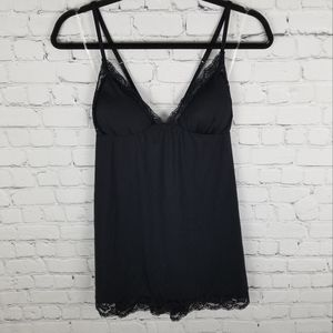 LA SENZA | strappy lace detail chemise nighty